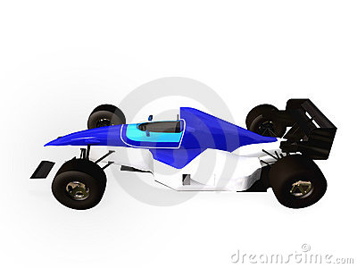 F1 blue racing car vol 1