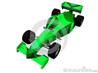 F1 green racing car vol 1