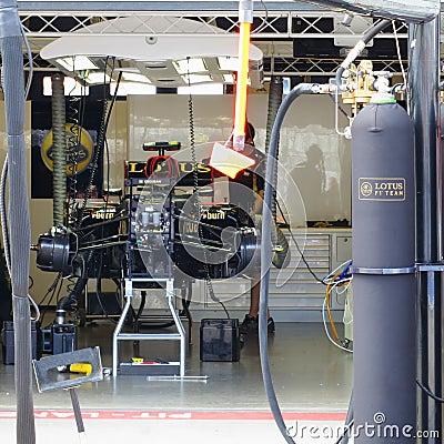 Free F1 Photo : Formula 1 Lotus Race Car - Stock Photo Stock Photography - 32955352