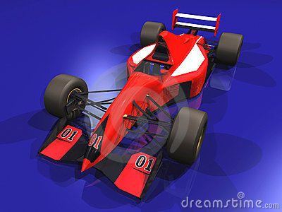 F1 red racing car vol 1