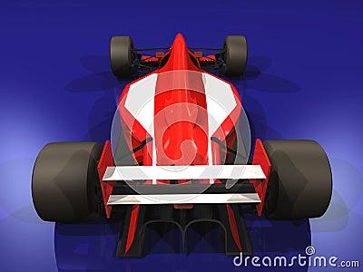 F1 red racing car vol 3