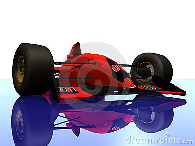 F1 red racing car vol 4