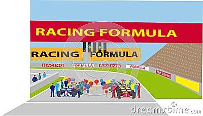 F1 starting grid