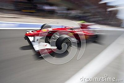 F1 Valencia Street Circuit 2010 Editorial Photo