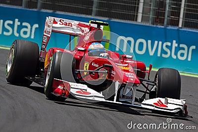 F1 Valencia Street Circuit 2010 Editorial Image