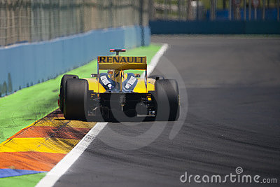 F1 Valencia Street Circuit 2010 Editorial Photography