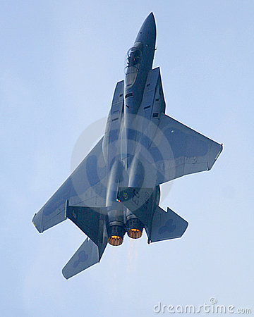 F15 Eagle Jet afterburner