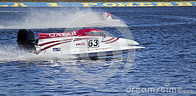 F1H2O UIM World Championship for power boating Editorial Photo