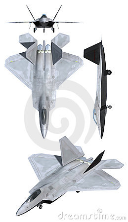 F22 Raptor Air Force Plane