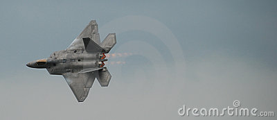 F22 Raptor Jet Fighter Airplane