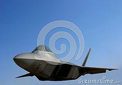 F22 Raptor US Air Force Fighter Plane Flying