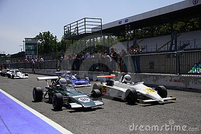 F3 classic Monza 2009 Editorial Photography