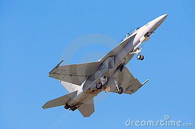 FA-18 Hornet Editorial Photo