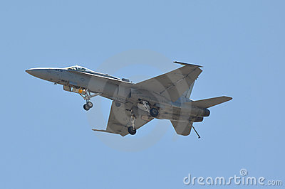 FA 18 Hornet Editorial Photo