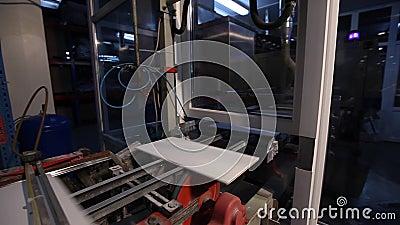 Fabbricazione di piastrelle di ceramica linea automatizzata per