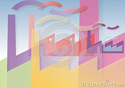 Fabbriche colorate
