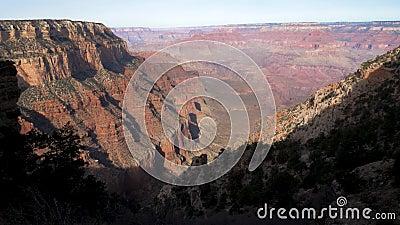 Fabelachtig Verbazend Grand Canyon stock footage