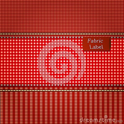 Fabric background for your design.
