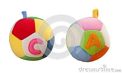 Fabric ball toy