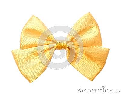 Fabric bow.