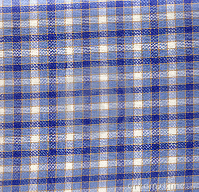 Fabric with checkered pattern