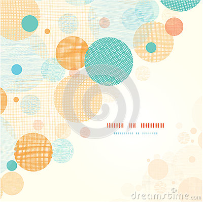 Free Fabric Circles Abstract Corner Pattern Background Royalty Free Stock Photos - 31414638
