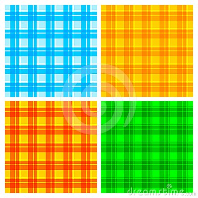 Fabric colorful background