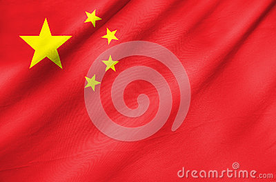 Fabric Flag of China