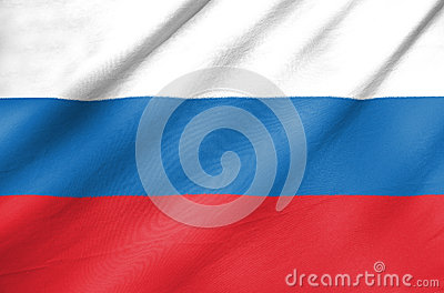 Fabric Flag of Russia