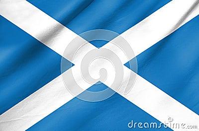 Fabric Flag of Scotland