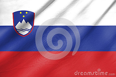 Fabric Flag of Slovenia