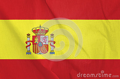 Fabric Flag of Spain