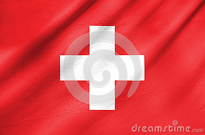 Fabric Flag of Switzerland