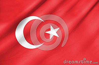 Fabric Flag of Turkey