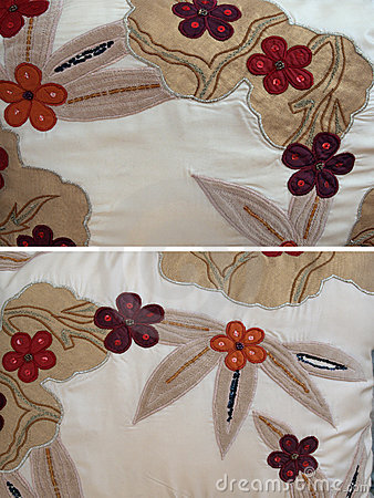 Fabric group - floral stitch