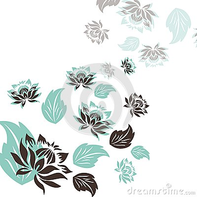 Fabric with ornaments
