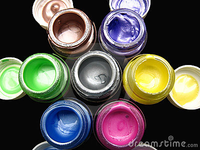 Fabric paint Background