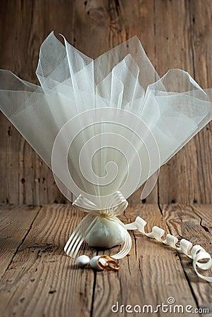 Free Fabric Pouch Wedding Favor Stock Photos - 50851783