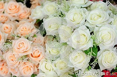 Fabric roses