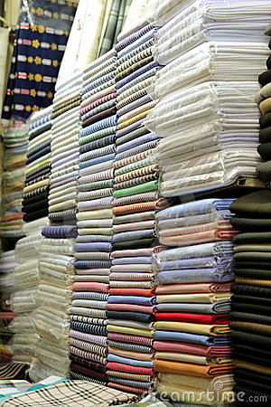 Fabric for Sale at Market