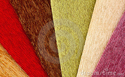 Fabric samples background