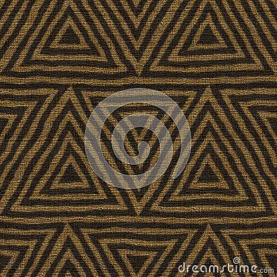 Fabric seamless texture, ethnic tribal and geometric Stock Photo