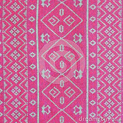 Fabric silk pattern texture Stock Photo