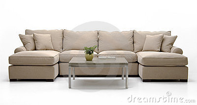 Fabric Sofa Set & table