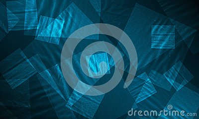 Fabric texture glowing background