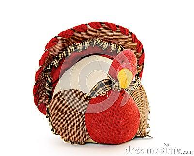 Fabric Turkey Decoration