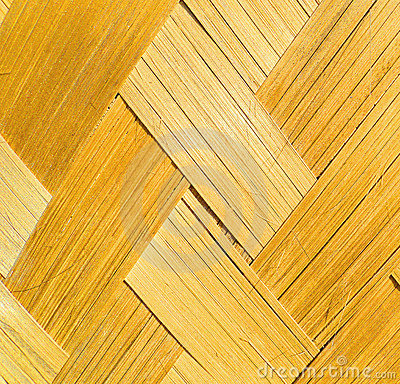 Fabricated bamboo bark