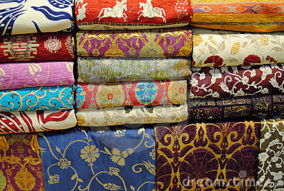 Fabrics at Grand Bazaar