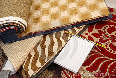 Fabrics for home decoration