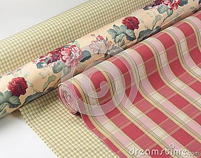 Fabrics texture